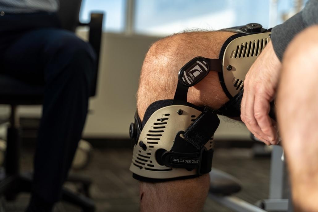 custom CTI knee bracing