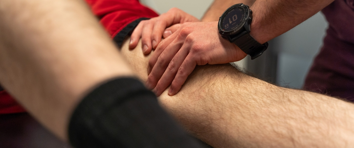 Knee manual therapy